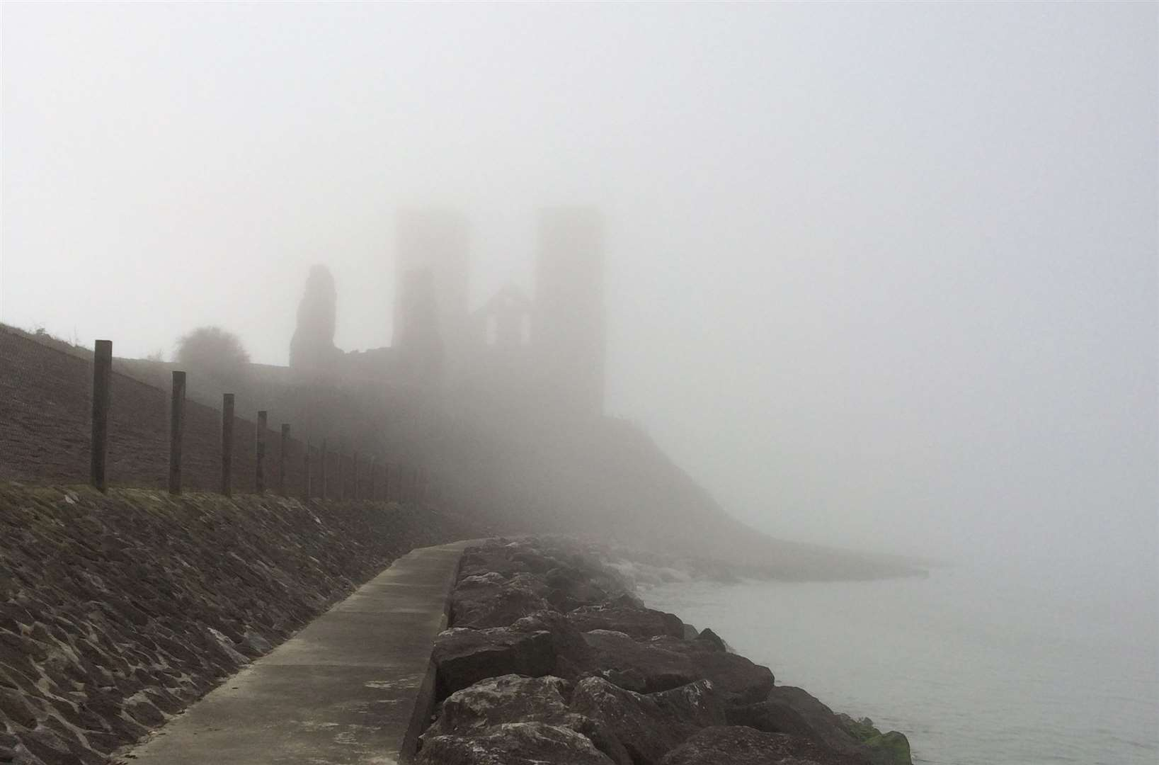 Cries are said to haunt Reculver. Pic: Lynette Coleman