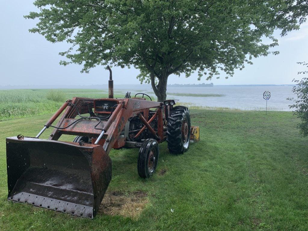 Pastoral views along Lake Champlain