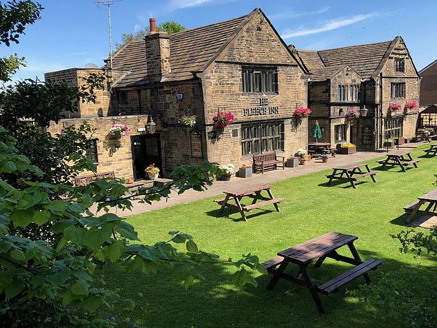 The Fleece Inn in West Yorkshire, one of the UK's most haunted pubs, has been a hive of paranormal activity since lockdown