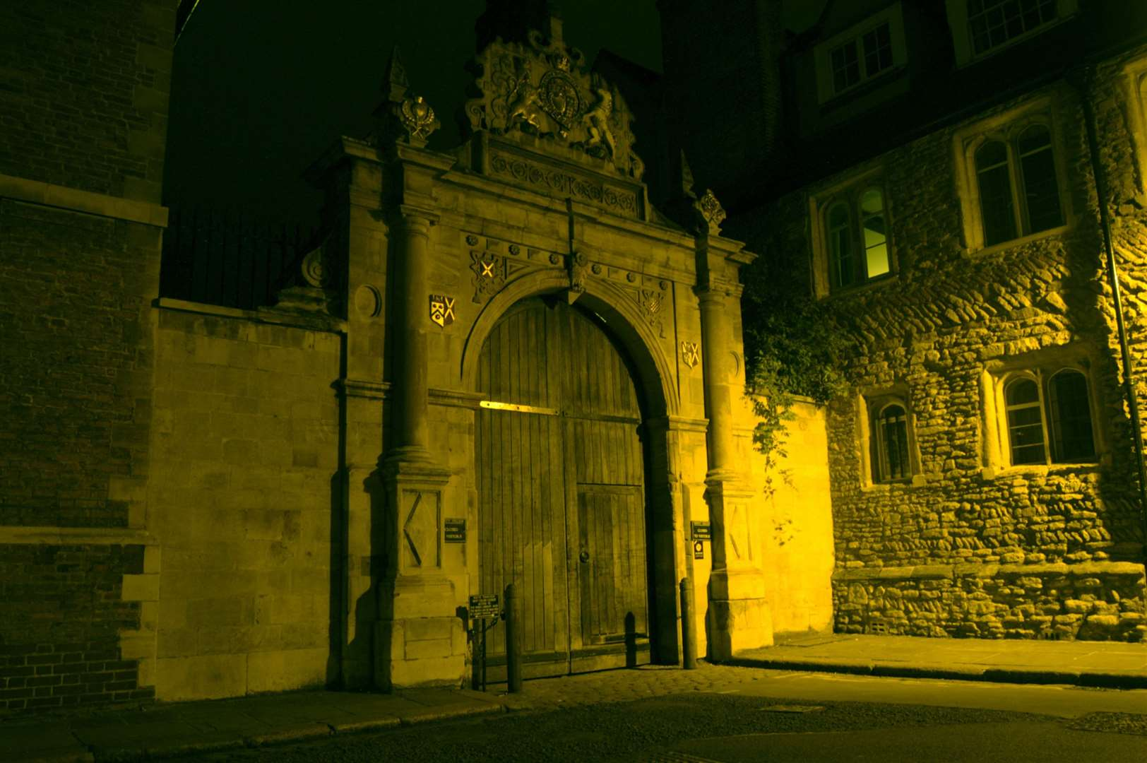 The Ghost Tours in Cambridge take place after dark