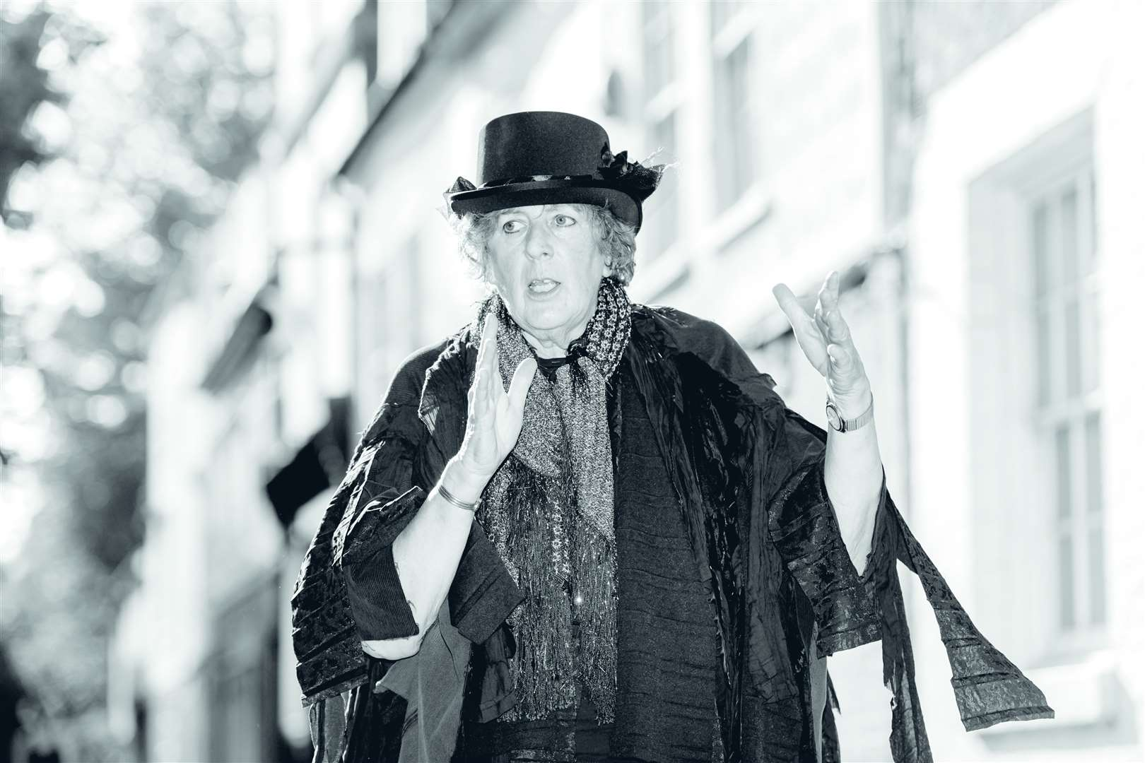 Leigh Watson who is one of the Blue Badge Guides running Ghost Tour walks. Picture: Keith Heppell. (42402514)