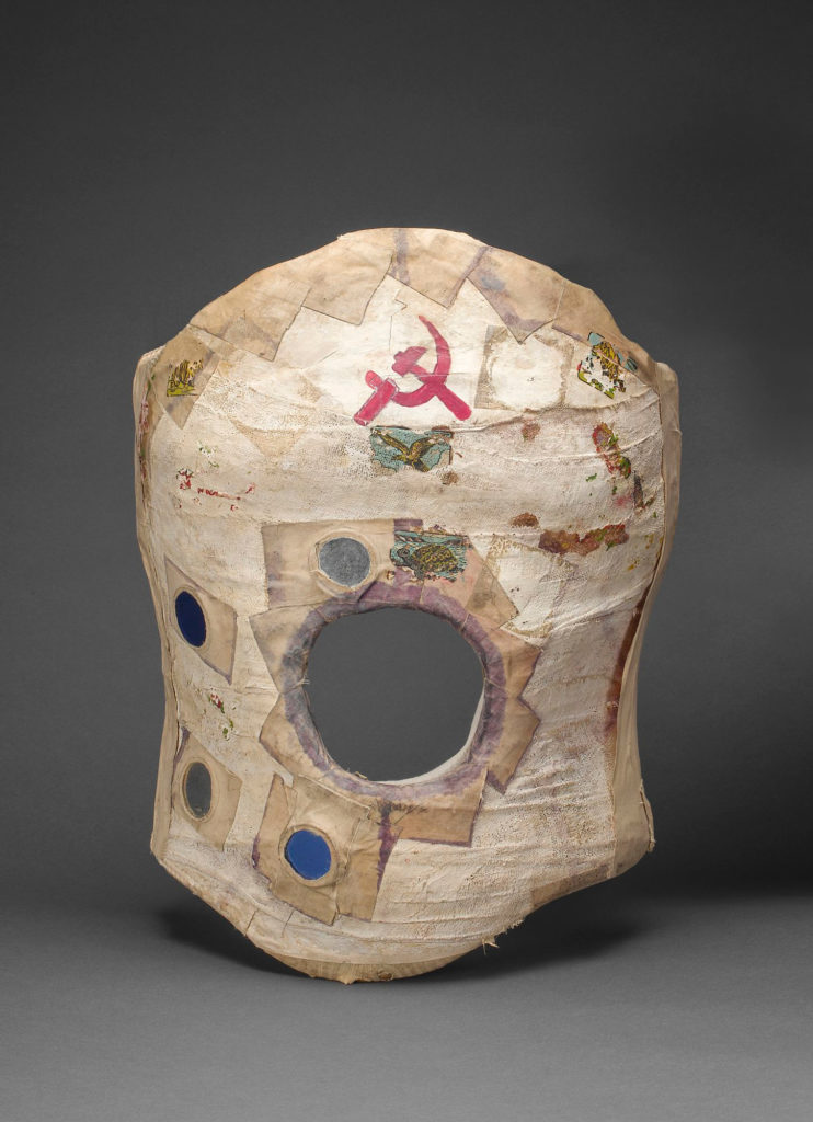 Plaster corset, painted and decorated by Frida Kahlo, Museo Frida Kahlo. ©Diego Rivera and Frida Kahlo Archives, Banco de México, Fiduciary of the Trust of the Diego Rivera and Frida Kahlo Museums