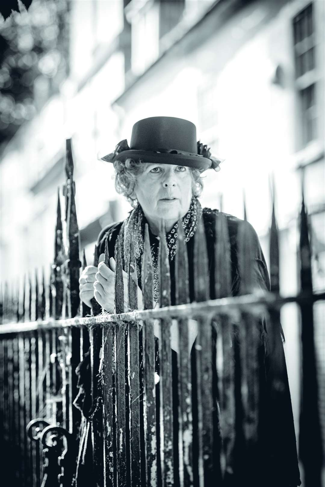 Leigh Watson who is one of the Blue Badge Guides running Ghost Tour walks. Picture: Keith Heppell.
