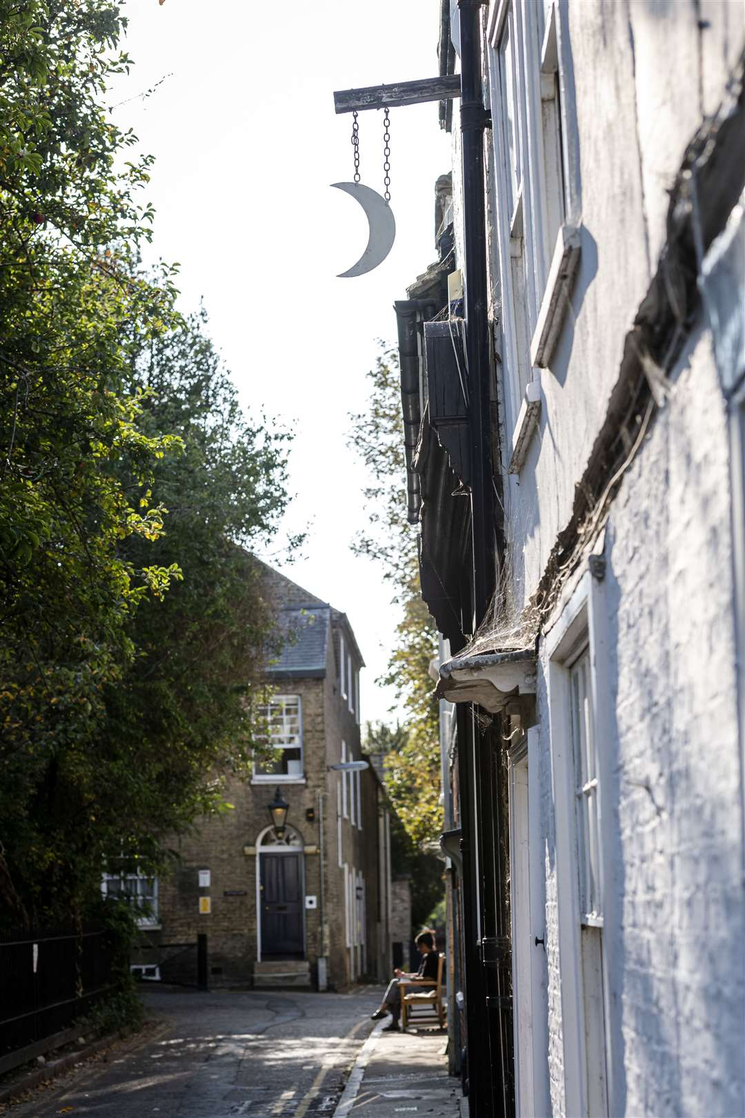 Leigh will take visitors to the most haunted street in Cambridge. Picture: Keith Heppell.