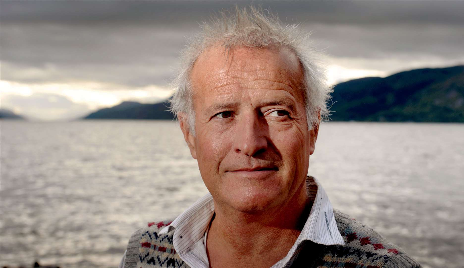 Steve Feltham has set a world record for the longest continuous vigil of looking for Nessie.