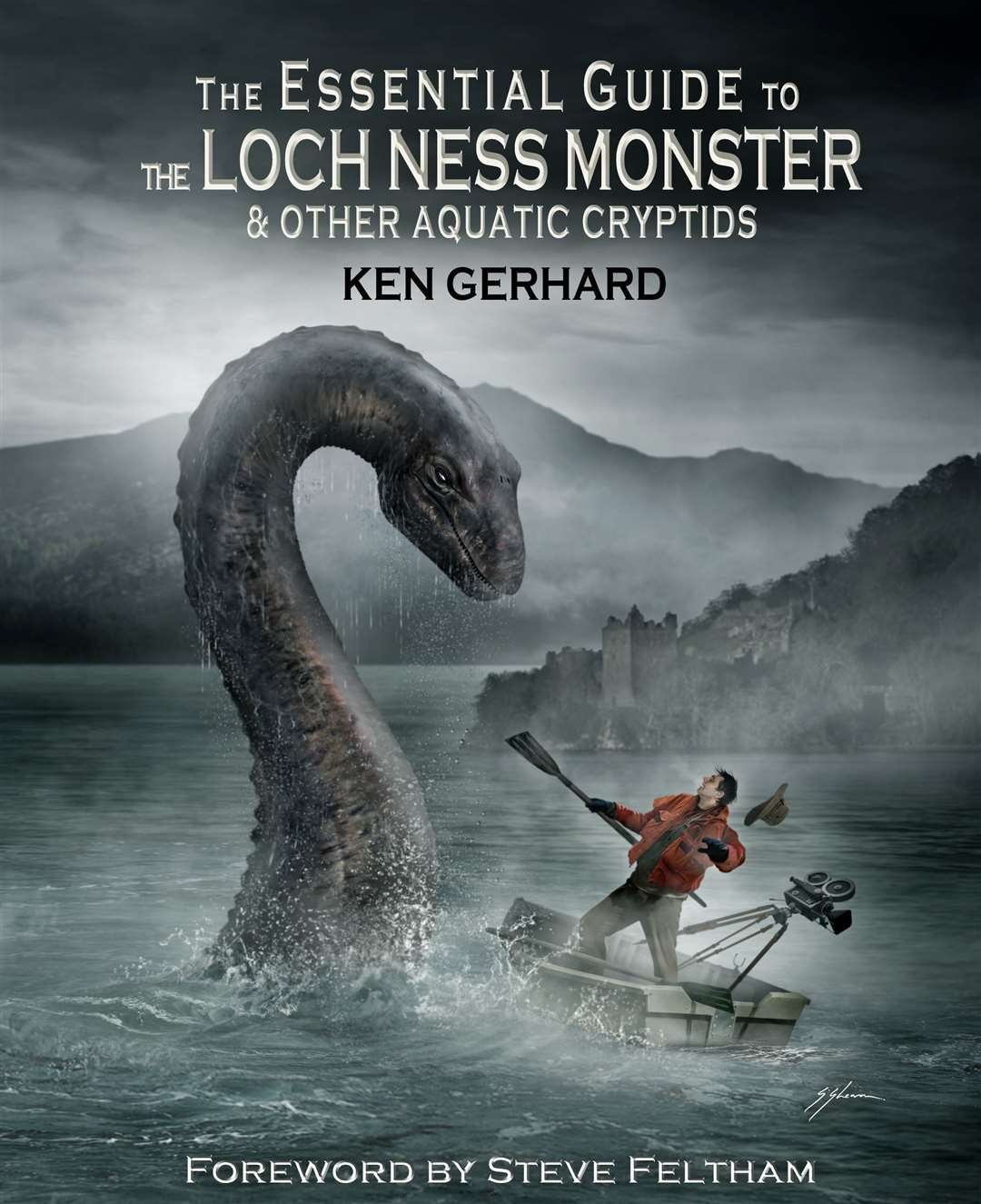 Cryptozoologist Ken Gerhard has written a book about Nessie.
