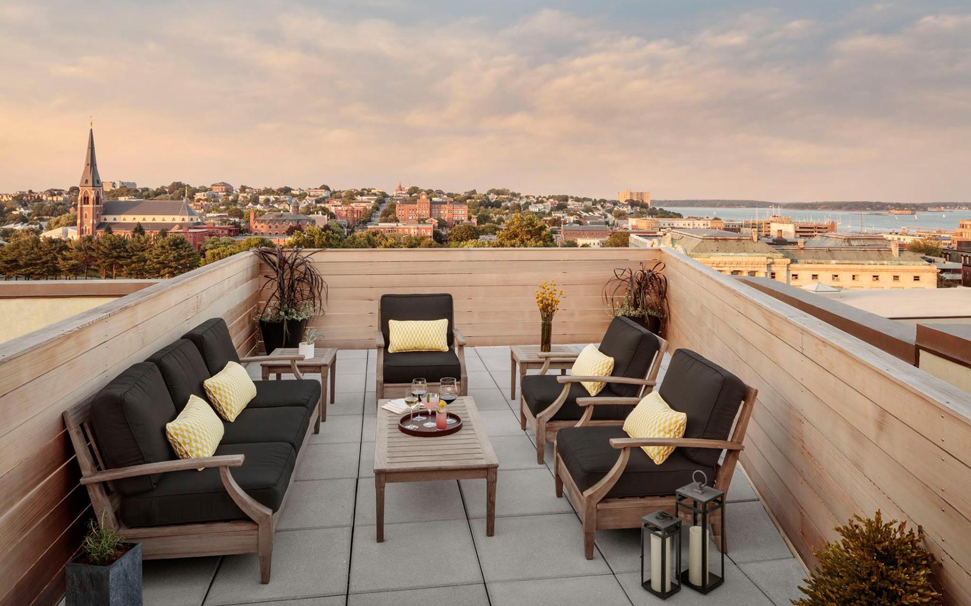 Coolest New Urban Hotels: Press Hotel, Portland, Maine
