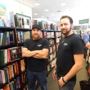 Full Moon Paranormal Founders Brett Blanchette (left) and Thomas Allen Photo/Melanie Petrucci