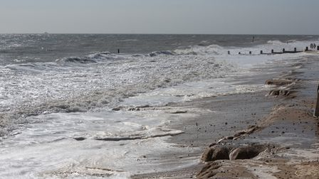 Does a sea monster prowl the coast near Southwold? Picture: SARAH LUCY BROWN