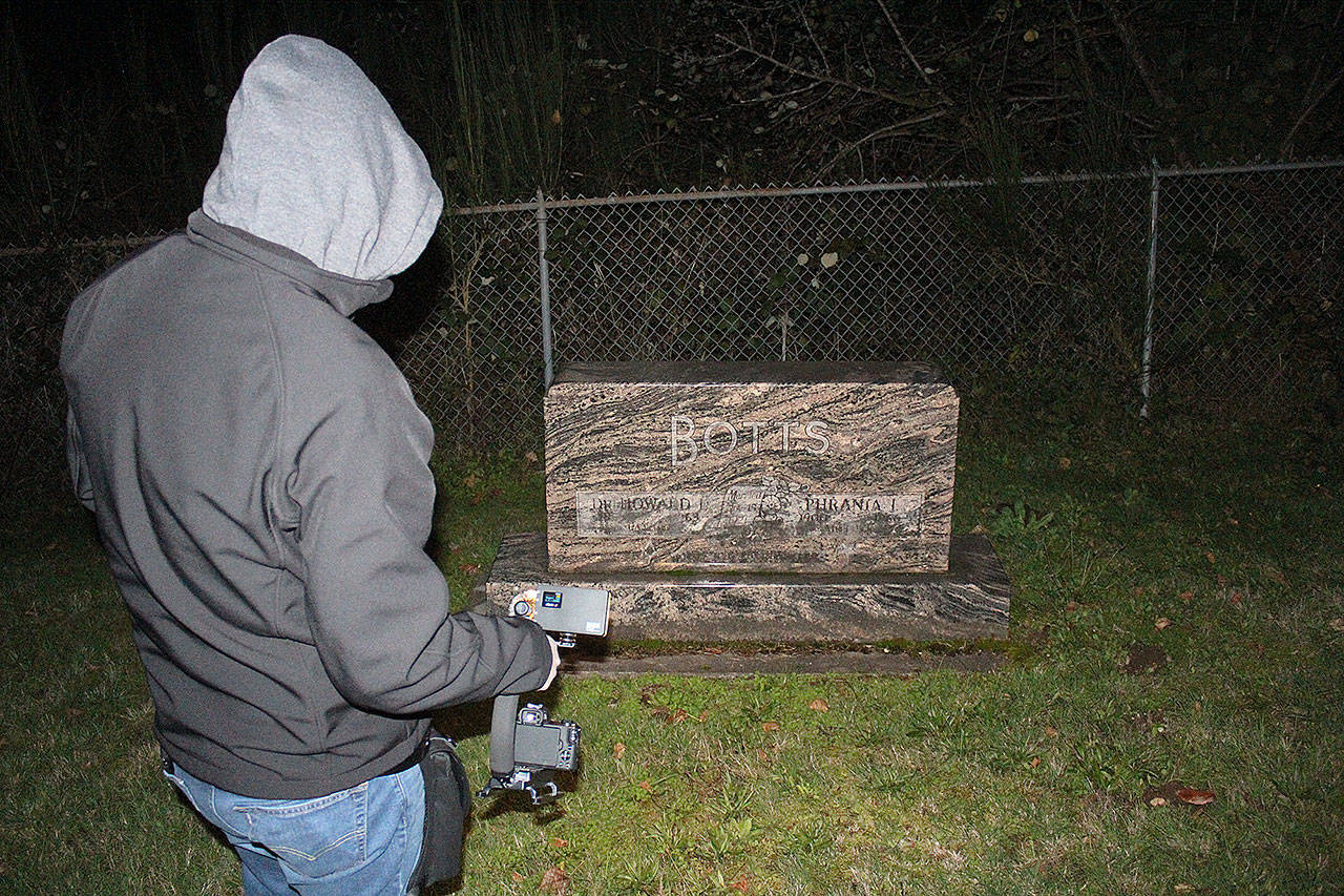 CPI's investigation led founder Kyle Richmond to the resting place of Dr. Howard Botts and his wife, Phrania. Photos by Ray Miller-Still