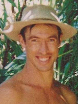 Stephen Dempsey (pictured) was shot at Deep Creek Reserve and dismembered in 1994 by a murderer who then stored his body in a freezer