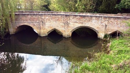 Nun's Bridge at Huntingdon where several people have reported sightings of a nun.