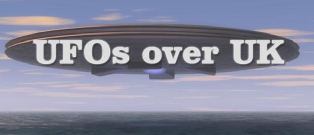 UFOs over UK