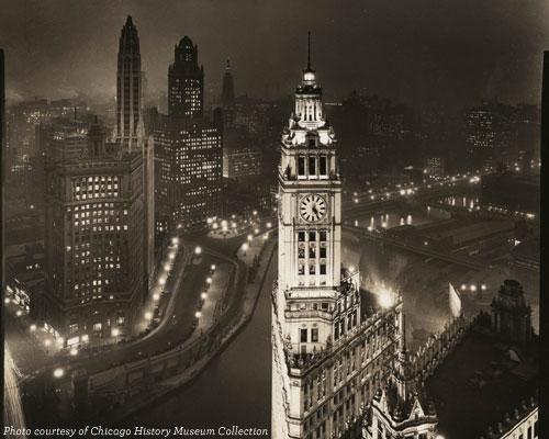 Michigan and Wacker in 1920s