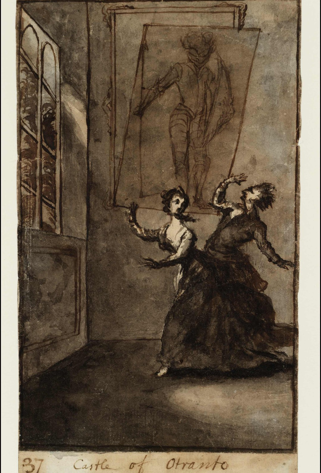 """Susanna Duncombe (née Highmore), """"The Ghost Scene"""" from <em srcset="""